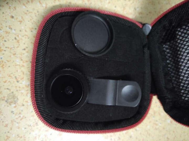 苹果手机镜头长焦/广角/鱼眼/微距适用iPhone7/6s/OPPO/VIVO/小米单反拍照外置镜头 鱼眼特效 光学镀膜镜片F01 晒单图