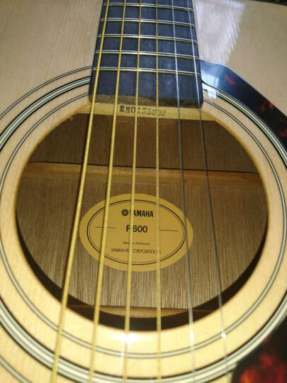 雅马哈(YAMAHA)FX310AII入门级民谣电箱吉他41寸印尼原装进口 晒单图