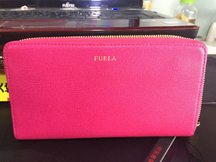 FURLA 芙拉 女款BABYLON系列紫色皮革时尚简约轻奢长款拉链钱包手拿包 842194 P PNOS B30 BABYLON 晒单图