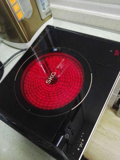 SKG 电陶炉家用电磁炉茶壶炉不挑锅双旋钮数码速显1685D 金色 晒单图