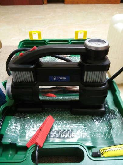 尤利特3500车载充气泵双缸大功率越野车汽车轮胎打气机12v冲气泵 3035单杠标配手提包版 晒单图