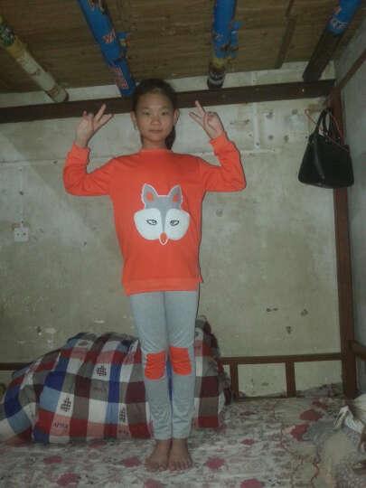 道琪安童装女童套装2018新韩版春秋装中大儿童两件套休闲运动儿童套装 桔色 150 晒单图