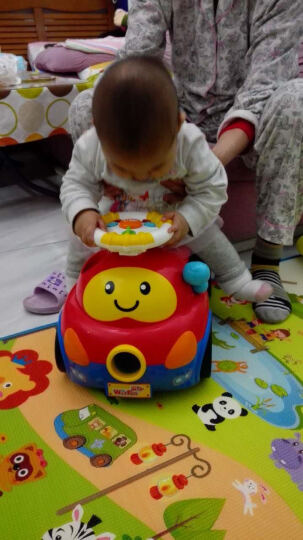英纷 益智健身学步音乐琴婴幼儿学步车宝宝婴儿手推车多功能学走路早教益智玩具 英纷0804学步健身架 晒单图