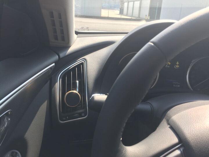 图拉斯(TORRAS)车载手机支架 汽车出风口卡扣磁吸式 适用4-8英寸手机平板导航通用汽车支架 土豪金 晒单图