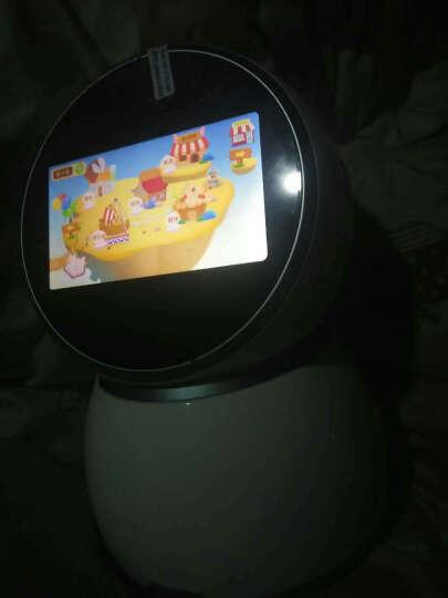 howareyou 好儿优/儿童智能机器人玩具-小白 幼儿益智早教学习陪伴远程视频看护 天蓝色32G版 晒单图