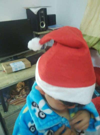 仕彩 圣诞帽儿童大人圣诞老人帽子女圣诞节装饰品宝宝头饰道具小礼物圣诞用品圣诞老人圣诞帽 圣诞帽发光 款式混发 晒单图