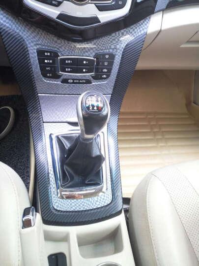 猛速 汽车用品碳纤维贴纸 立体车身贴膜改装内饰装饰全车贴拉花3D改色膜 3D银127cm宽*1米 晒单图