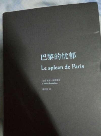 巴黎的忧郁 晒单图