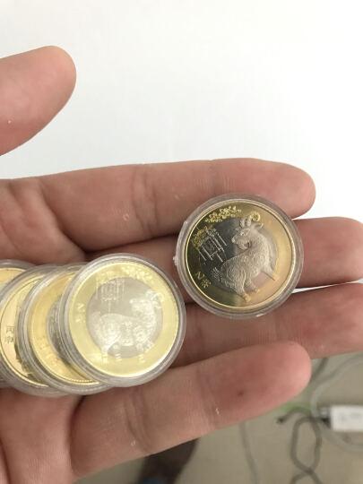 灿网藏品   2016年猴年纪念币 生肖贺岁币 10元流通纪念币 整卷40枚 晒单图