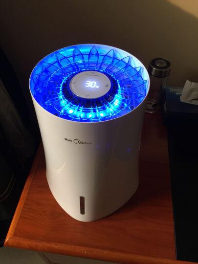 美的(Midea) (送香薰精油)蒸发式加湿器家用空调智能APP控制 SZK-3B20 晒单图