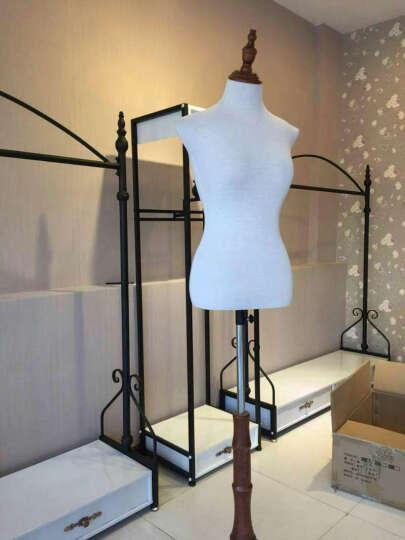 嘉佩馨 服装店衣架展示架货架落地式铁艺衣架 上墙壁挂多功能衣架 经典热卖4件套 晒单图