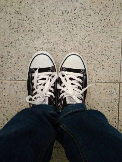 回力/Warrior 经典低帮男女款帆布鞋春秋休闲男女鞋黑白色情侣款 WXY-391 蓝色 42 晒单图