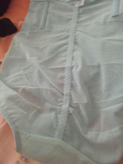 纤姿蓓 【2件装】女士收腹裤 高腰美体塑身裤 产后无痕女士内裤LS11-2 紫色 2条装 XXL 晒单图