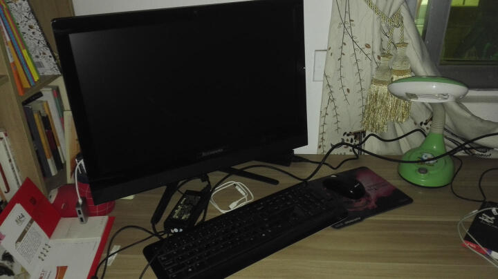 联想(Lenovo) AIO 520-24/510-23 商用办公家用游戏致美一体机电脑 AIO520黑i3-6006U/4G/1T/独显 晒单图