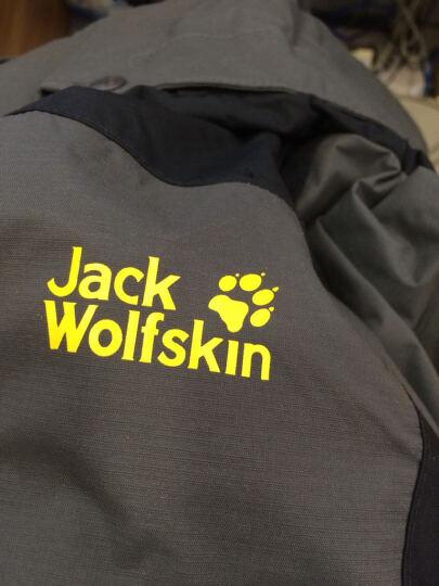 狼爪Jack Wolfskin男士秋冬防水透气套内胆三合一冲锋衣户外5119611/5119231 5118611套羽绒黑色6000 L 晒单图