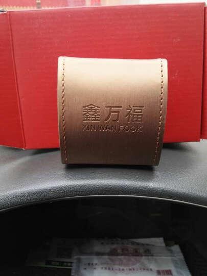 鑫万福 小兔黄金转运珠足金3D硬金手链约0.80-1.00g 晒单图