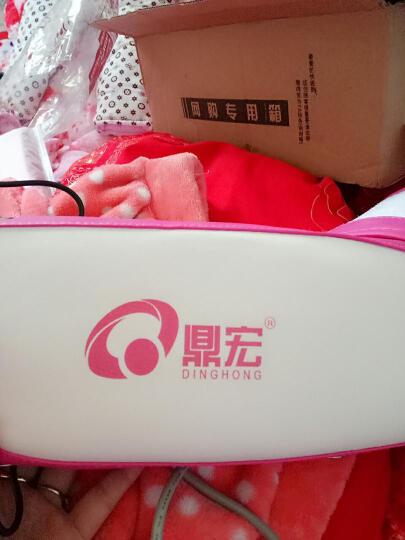 鼎宏(dinghong) 甩脂机懒人塑身甩脂腰带腹部按摩腰带抖抖机 土豪金7键加热款 晒单图