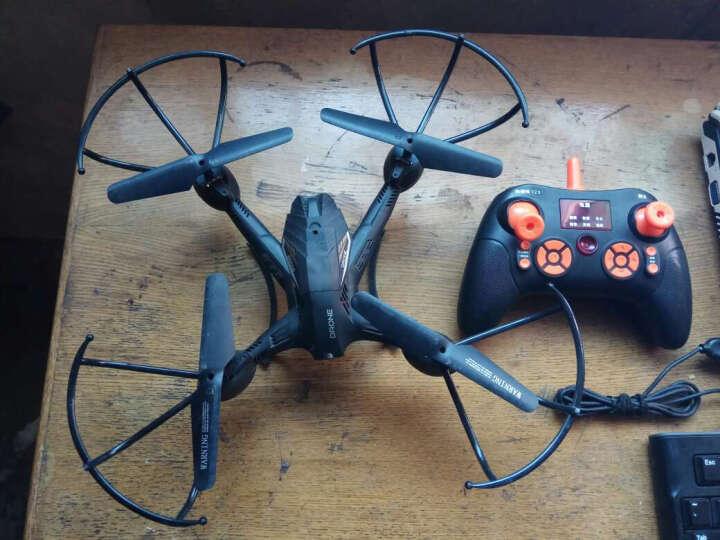 捣蛋鬼 四轴飞行器高清航拍无人机 充电动遥控飞机直升机耐摔玩具 双电池白色带航拍版 晒单图
