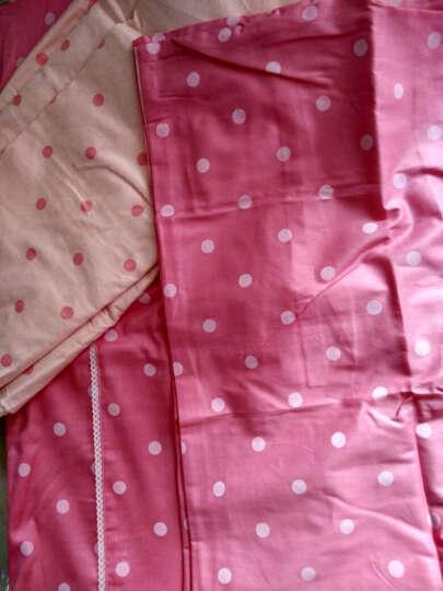 萱之悦 全棉床罩四件套 床上用品家纺公主床裙式 床罩式 蕾丝靠垫-韩国丽人 1.8米床(适合200*230的被子) 晒单图