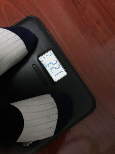 香山EF751电子脂肪秤多功能电子秤体脂称(尊享黑) 晒单图