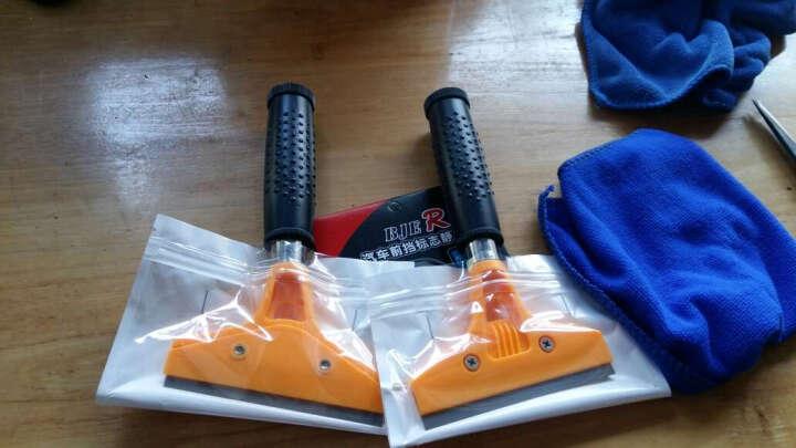 点缤 贴膜专用工具 DIY工具 贴膜刮刀刮板 耐高温刮板 塑料刮板工具 TW-333A 长柄铲刀 (颜色随机) 一把装 晒单图