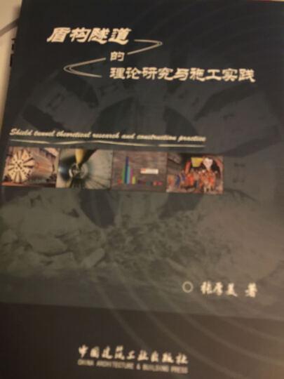 盾构隧道的理论研究与施工实践 晒单图