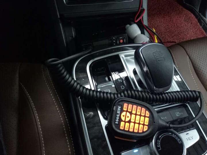 HELEN 海伦车台H-UV200B车载对讲机 大功率10-50公里自驾越野车用无线电台 HUV200B双频多守+24V降压器+夹边天线 晒单图