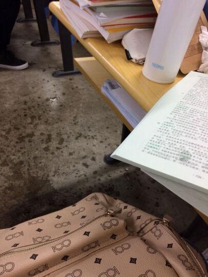 美国香奈哈泼 双肩背包女铆钉包包大容量韩版休闲潮流款式旅行新品秋冬季印花电脑书包 白色L大款 晒单图