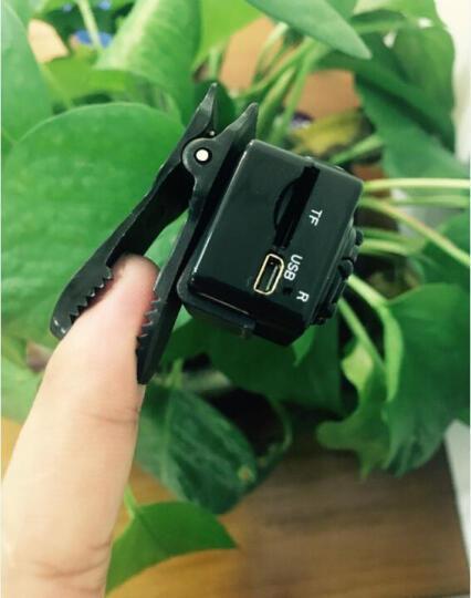 微型摄像机 高清带夜视超小红外线监控一体机器家用无线微型隐形摄像头非无线摄像头 卡升级款标配无内存卡 晒单图