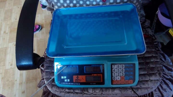 新科力 家用电子称台秤商用超市蔬菜水果台式称电子计价秤 红字干充两用款(干电池 蓄电池均可) 晒单图