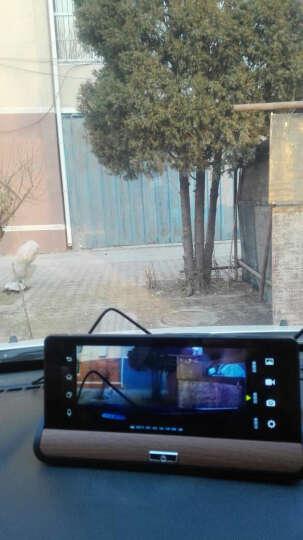 丁威特 7英寸3录4G中控台行车记录仪导航仪语音声控双镜头带电子狗高德地图高清夜视一体机 16G+4G声控蓝牙导航云狗双录一体机+无光夜视 晒单图