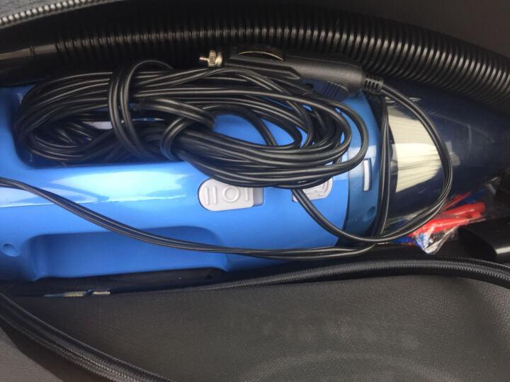 车志酷 四合一多功能大吸力车载吸尘器12v大功率充气泵轮胎打气机汽车用迷你便捷式车内吸尘器 车载吸尘器(蓝色) 晒单图