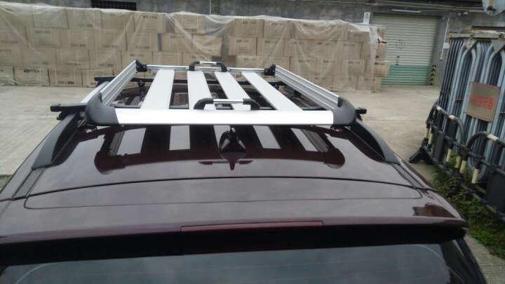 领动航 汽车行李架越野车SUV专用车顶行李架车顶框 载重旅行李筐架改装 套餐三行李框+夹式横杆送:雨布+网兜 东风风度MX6 MX5 猎豹CS10 CS6 晒单图