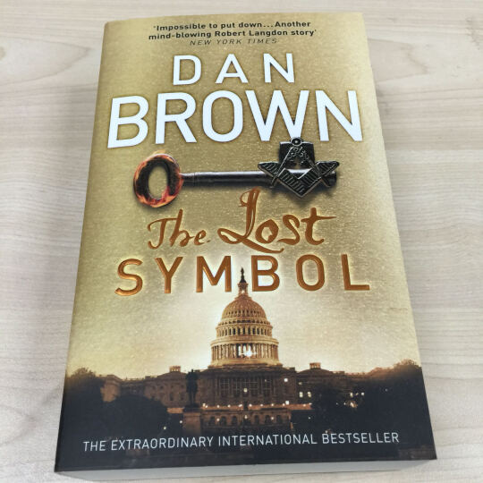 The Lost Symbol  失落的秘符 晒单图