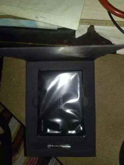 KDATA 金田32G/64G/120GBSSD固态硬盘台式机笔记本SATA3电子硬盘MLC非60g 64G SATA3+台式机支架 晒单图