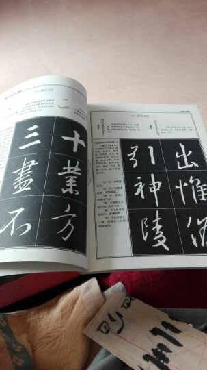 王羲之行书教程:圣教序中国书法培训教程 晒单图