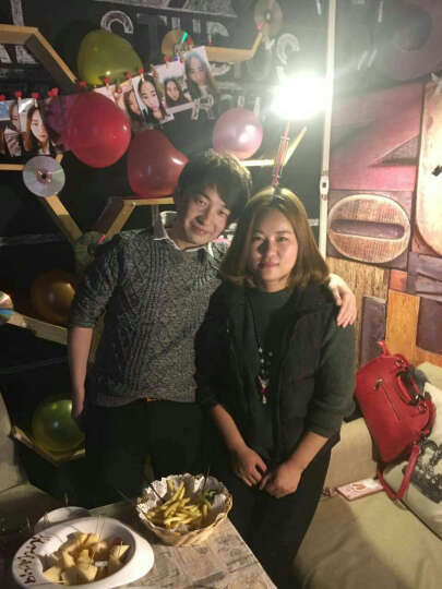 家英 10个装 韩版带麻绳木质爱心小夹子 红色心形夹 照片墙 留言便签夹酒吧 咖啡店装饰 晒单图