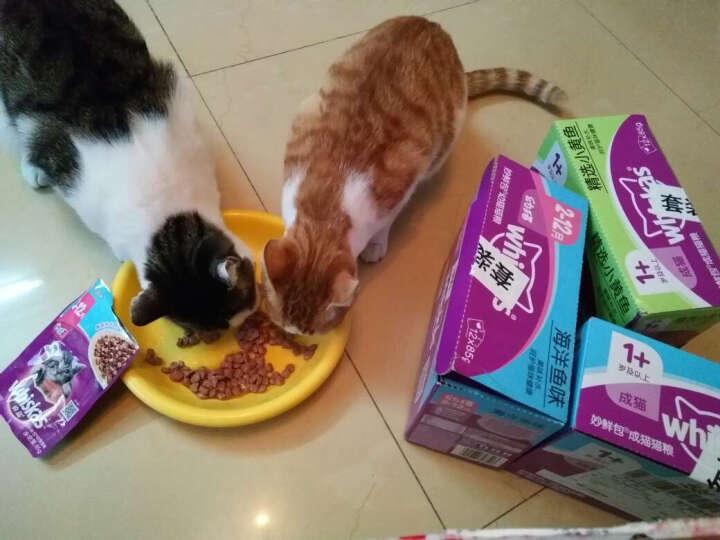 伟嘉 宠物猫粮猫湿粮 成猫妙鲜包 金枪鱼味85g*12整盒装 晒单图