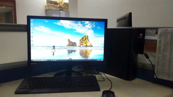 联想ThinkCentre E73S台式办公电脑主机(i5-4460T 4G 500G 1G独显 串并口 三年上门Win10)1WCD 晒单图