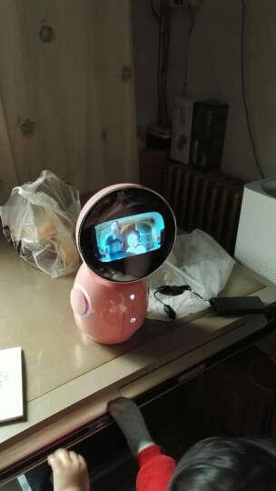 小忆机器人 儿童智能机器人 寓教于乐互动学习高科技礼品孩子好伙伴 粉色 晒单图