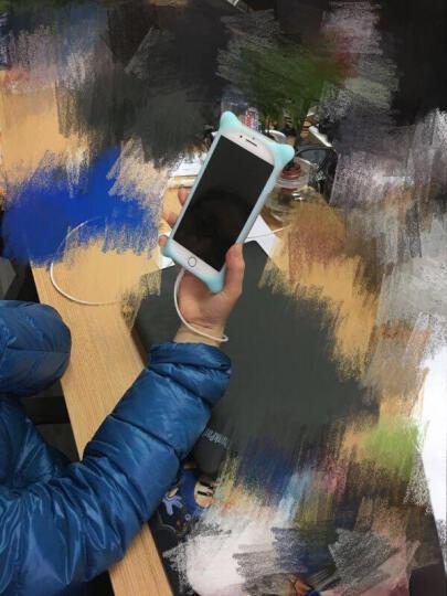 Bone 手机壳泡泡卡通PC软硅胶壳适用于iPhone7/8Plus可爱防摔防撞全包 iphone8/7猫咪 晒单图