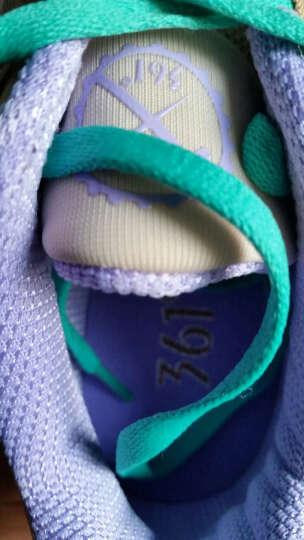 361度女鞋跑步鞋运动鞋休闲鞋2019秋冬新款透气旅游鞋R 6U灰/薄荷紫-2(女) 39 晒单图