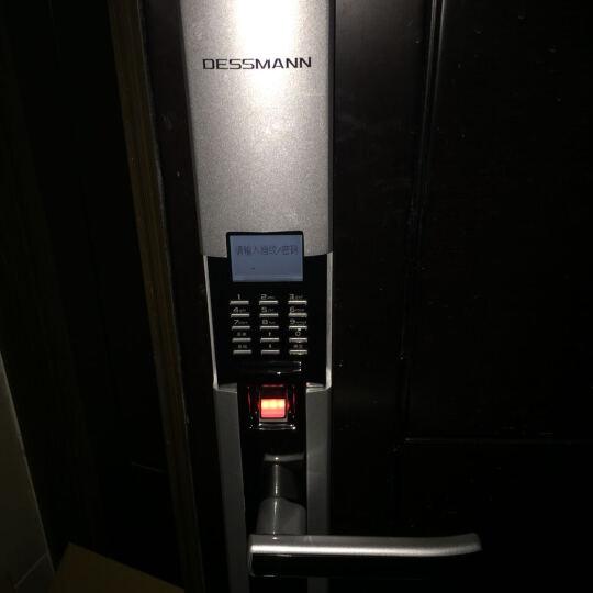 德施曼S510 家用智能指纹锁防盗门锁电子密码锁 晒单图
