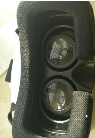 黑柚子 VR虚拟现实3D眼镜 VRBOX头盔 便携头戴式全景眼镜 3d智能眼镜vr游戏头盔 绿光+蓝牙触摸(商家发货) 晒单图