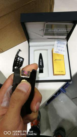 jobon中邦双电弧打火机USB充电打火机防风金属脉冲创意个性电子点烟器正版 不用煤油气体 双电弧黑冰送手提袋 晒单图