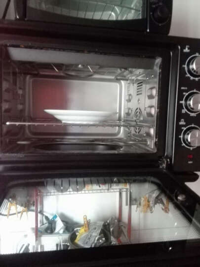 GOVOS Q02A蒸汽烤箱 蒸烤箱三合一台式电烤箱蒸箱一体机家用 晒单图