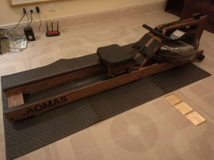 澳玛仕(AOMAS)划船机家用商用水阻划船器液阻划桨机健身器材 铝轨-时尚款 晒单图