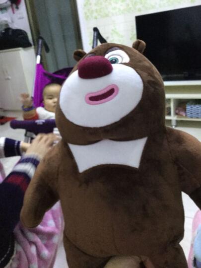 熊出没 Boonic Bear 毛绒玩具公仔帽 卡通帽 熊大毛绒帽 晒单图