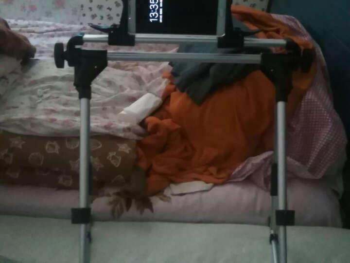 【速发】 手机ipad支架平板电脑床头床上懒人夹子通用苹果ipad支架子手机架 手机支架  白色72mm 晒单图