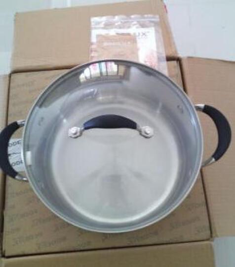 铂帝斯(BODEUX) 贵族系列 304不锈钢汤锅24CM 电磁炉燃气煲汤锅 晒单图